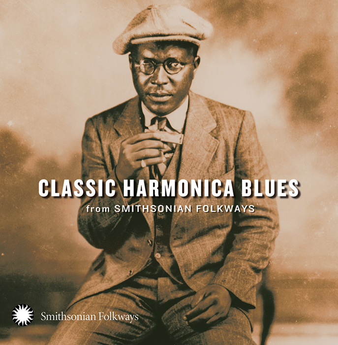 Classic Harmonica Blues from Smithsonian Folkways album cover