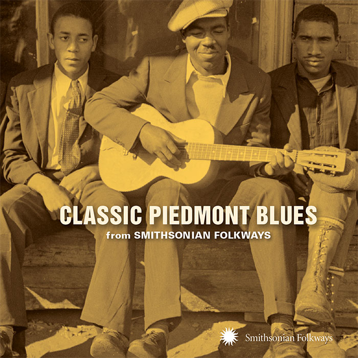 Classic Piedmont Blues from Smithsonian Folkways album cover