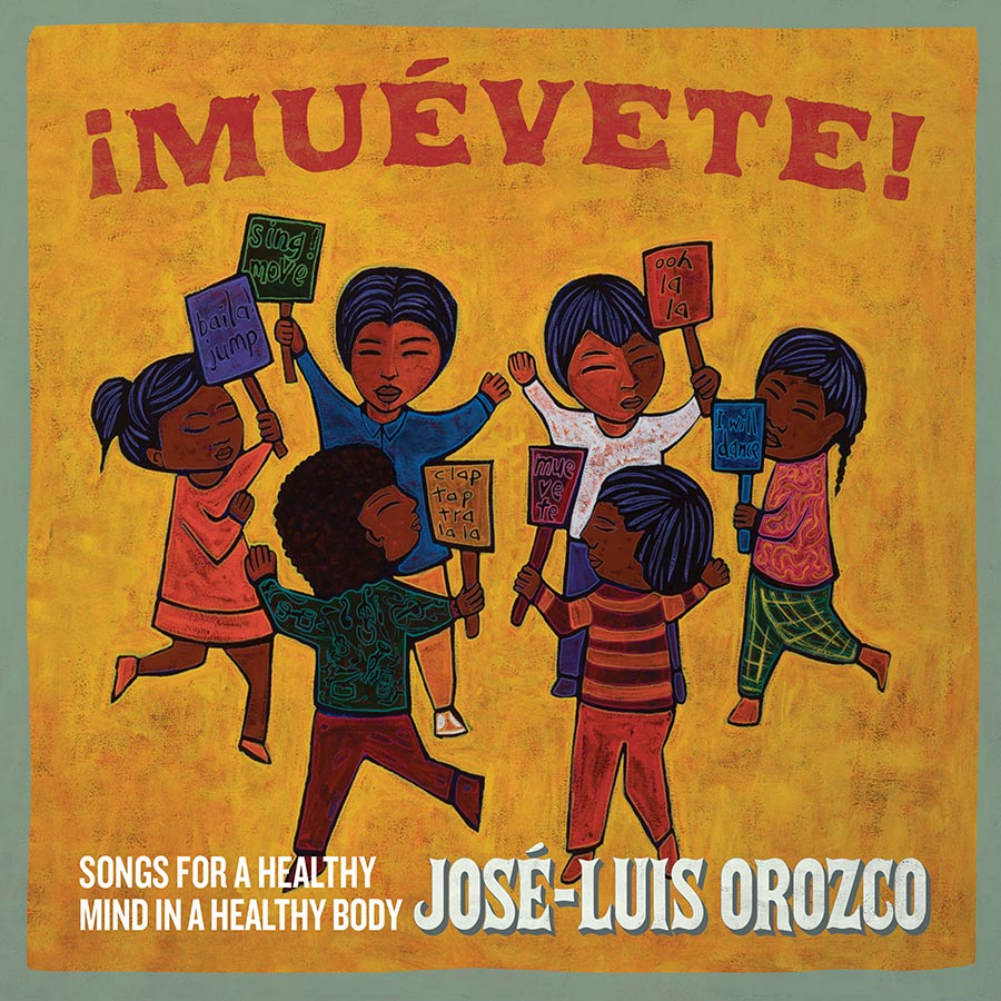 ¡Muévete! Songs for a Healthy Mind in a Healthy Body