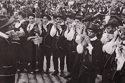 From Tarantella to Tyrol: a Tour of Italian Folk Music