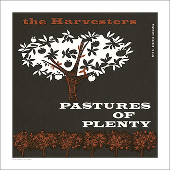 Cover Art Print - Pastures of Plenty and Other Songs