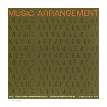 Cover Art Print - Music Arrangement