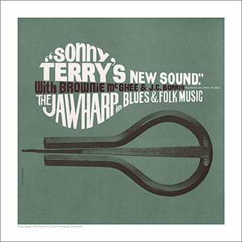 Cover Art Print - Sonny Terry's New Sound