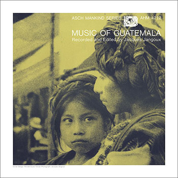 Cover Art Print - Music of Guatemala