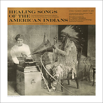 Cover Art Print - Healing Songs of the American Indians
