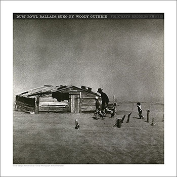 Cover Art Print - Dust Bowl Ballads