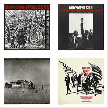 Cover Art Set Four - Struggle and Protest