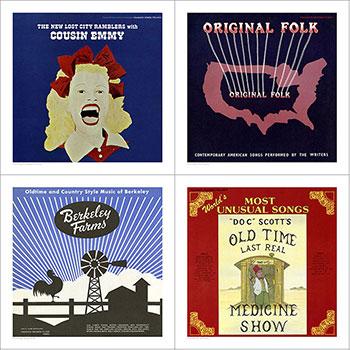 Cover Art Set Five - American Folk