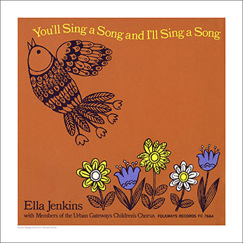 Cover Art Print - You'll Sing a Song and I'll Sing a Song