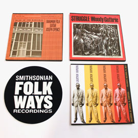 Vinyl Bundle #1 with Bonus Folkways Slipmat