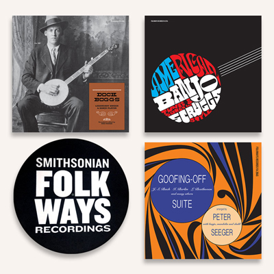 Vinyl Bundle #2 with Bonus Folkways Slipmat