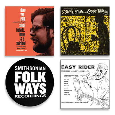 Vinyl Bundle #3 with Bonus Folkways Slipmat