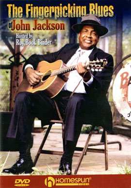 The Fingerpicking Blues of John Jackson (DVD)