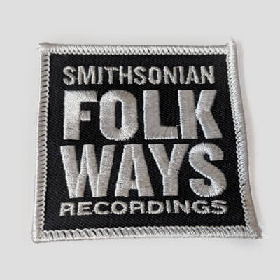 Folkways LOGO Patch