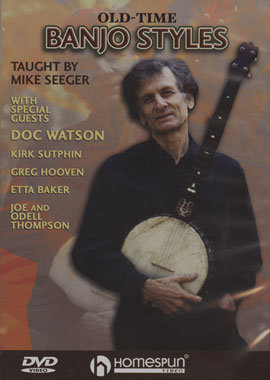 Old-Time Banjo Styles (DVD)