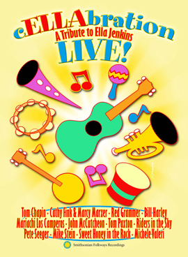 cELLAbration Live! A Tribute to Ella Jenkins (DVD)