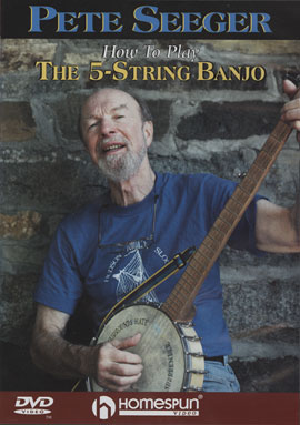 How To Play the 5-String Banjo (DVD)