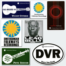 Folkways Stickers Bundle – All Seven Stickers