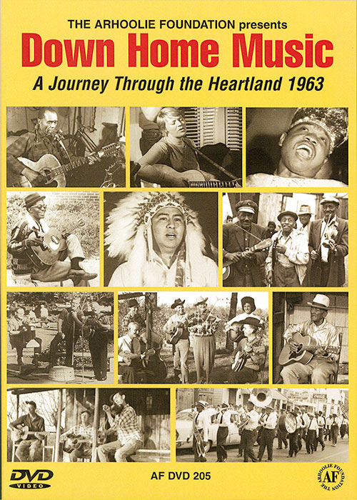 Down Home Music: A Journey Through the Heartland 1963 (DVD)