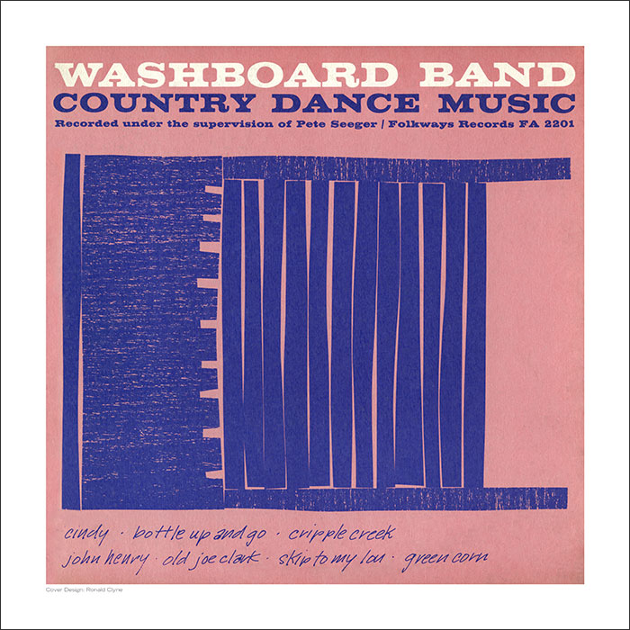 Cover Art Print - Washboard Band