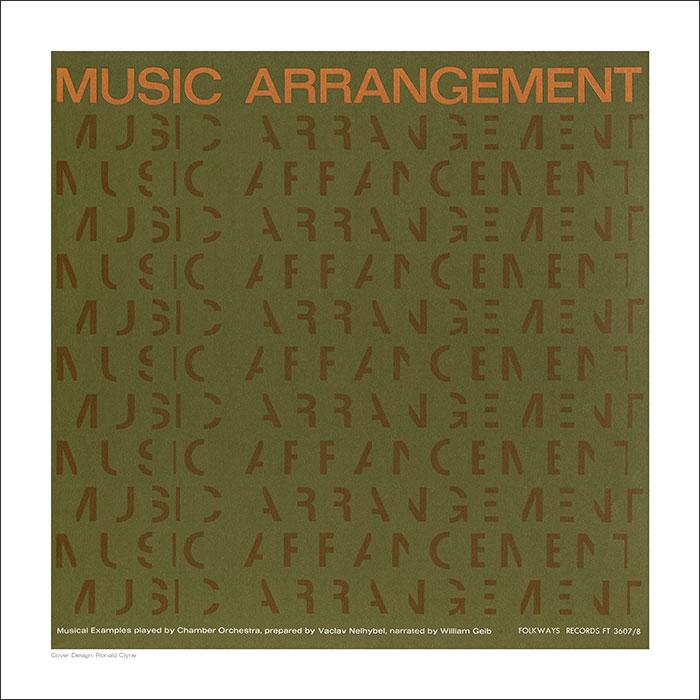Cover Art Print - Music Arrangement
