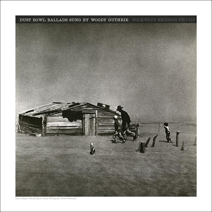 Cover Art Print - Dust Bowl Ballads