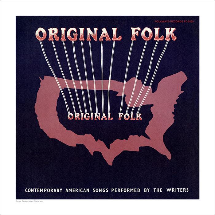 Cover Art Print - Original Folk
