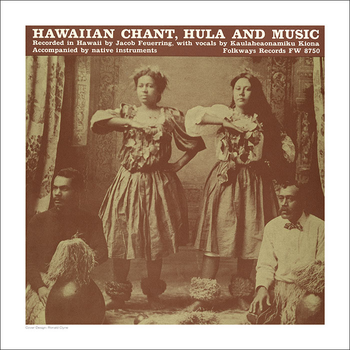Cover Art Print - Hawaiian Chant, Hula, and Music