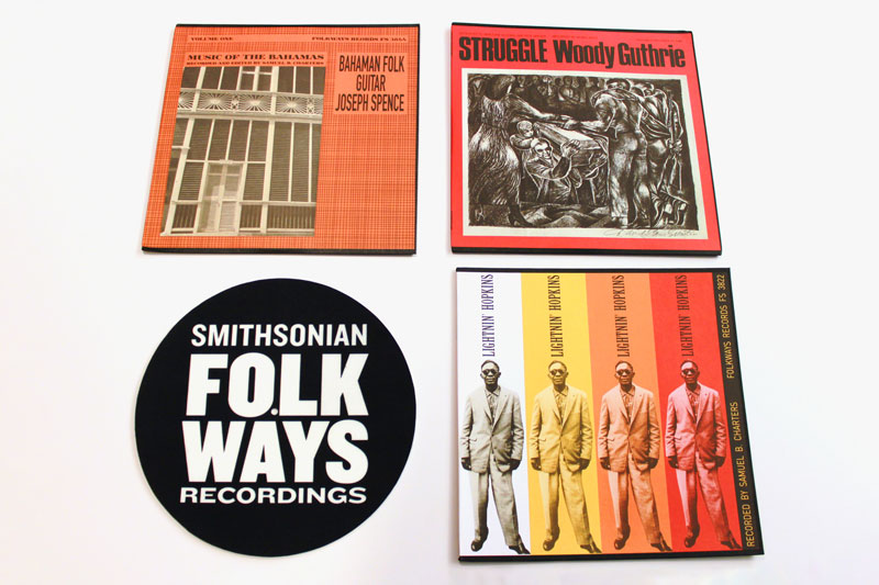 Vinyl Bundle with Bonus Folkways Slipmat