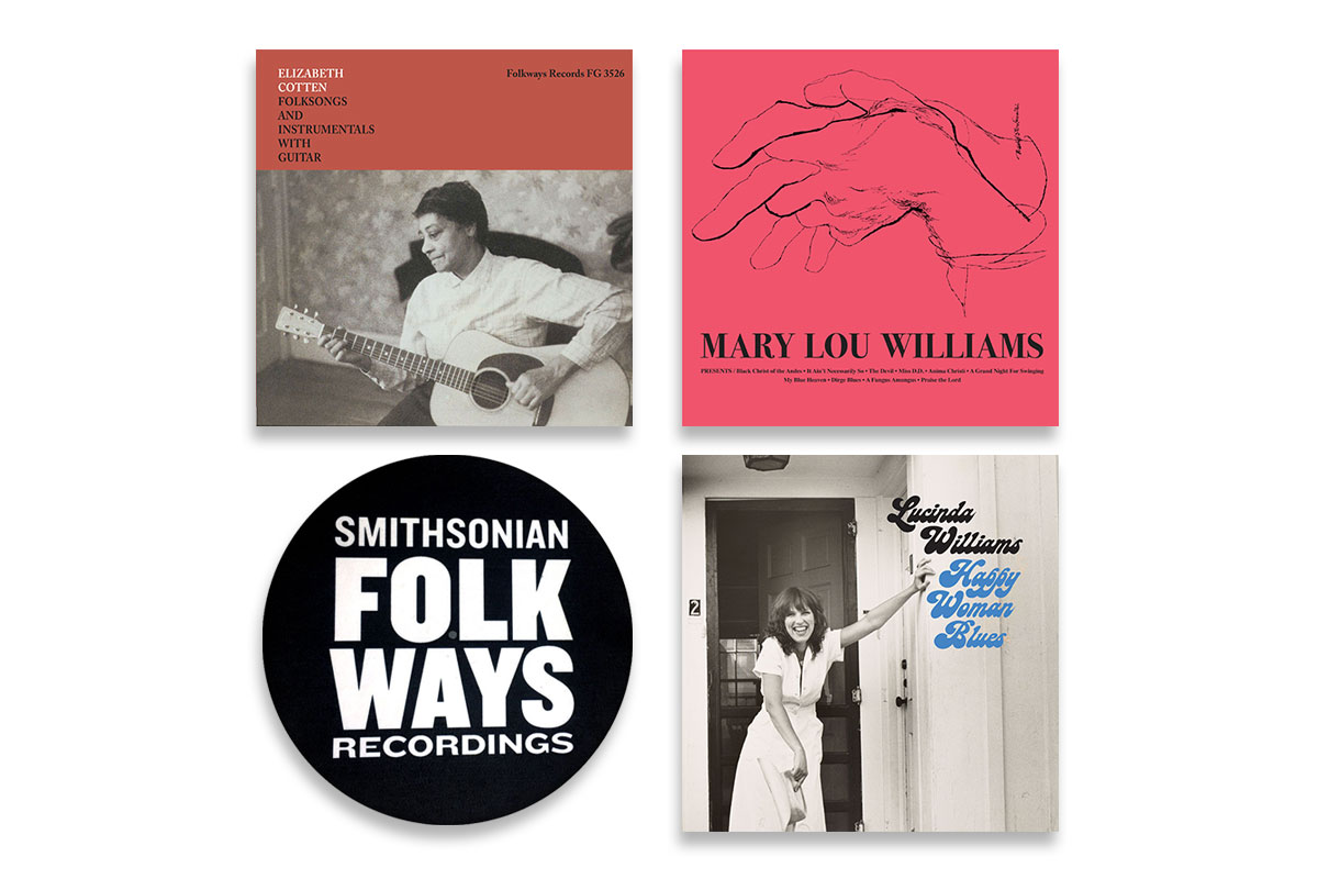 Vinyl Bundle #4 with Bonus Folkways Slipmat