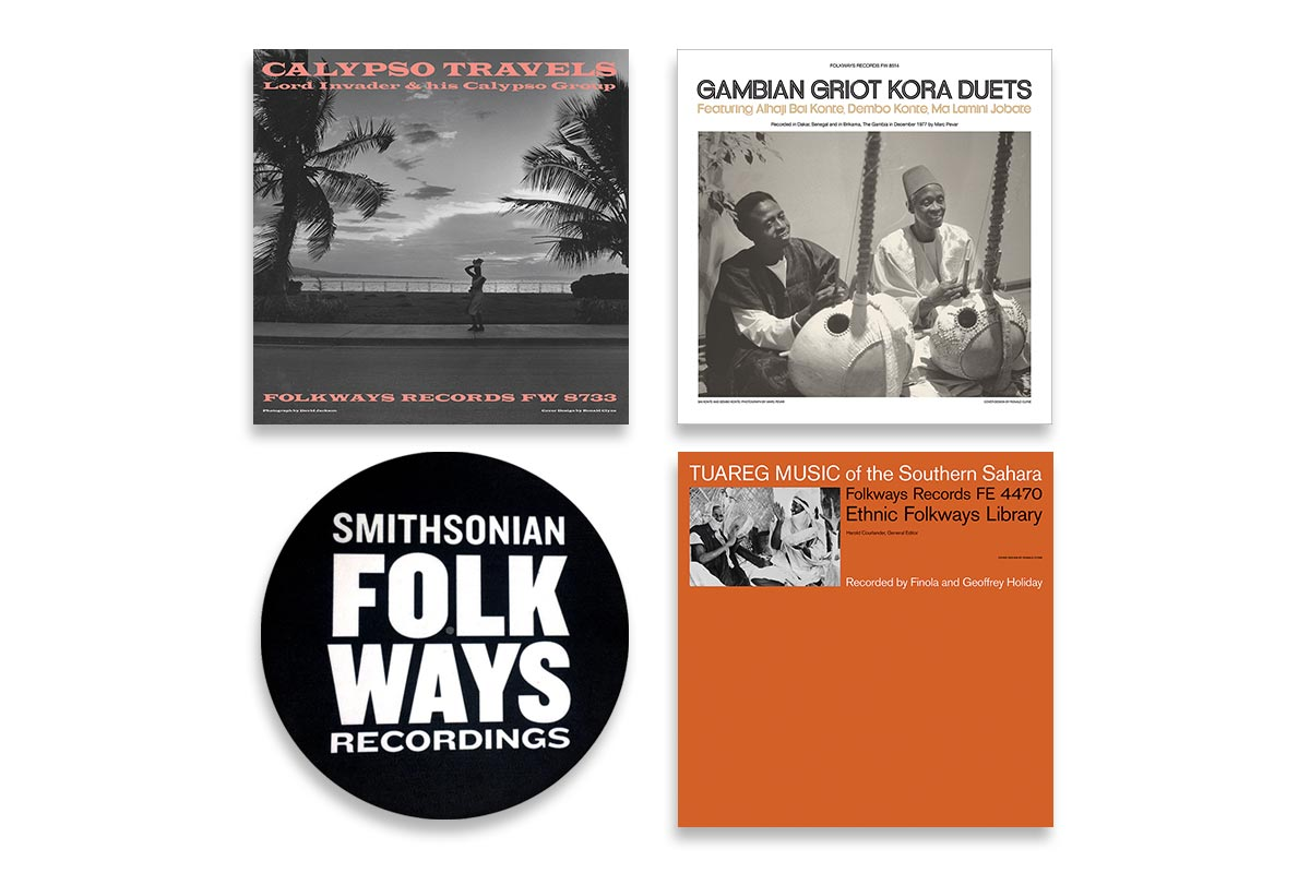 Vinyl Bundle #5 with Bonus Folkways Slipmat