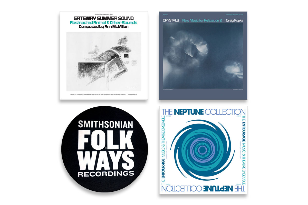 Vinyl Bundle #6 with Bonus Folkways Slipmat