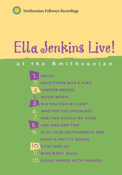 Ella Jenkins Live at the Smithsonian (DVD)