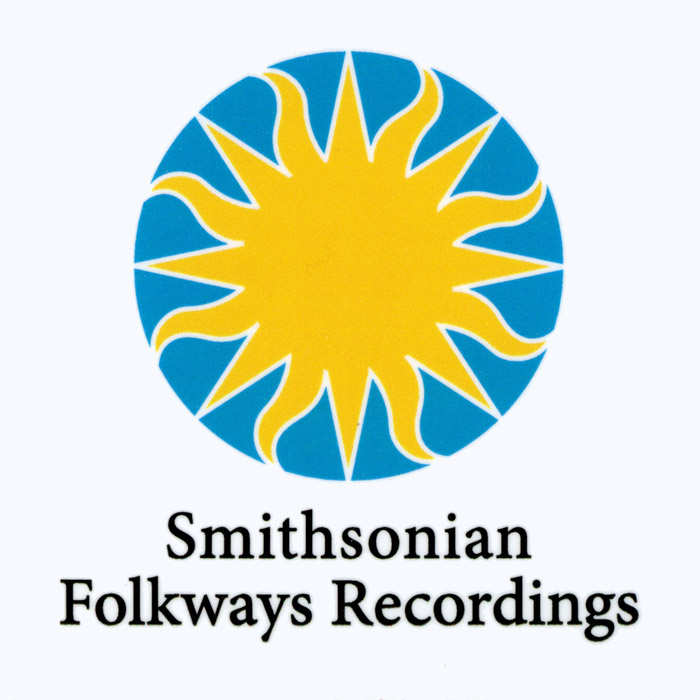 White Smithsonian Folkways Sticker