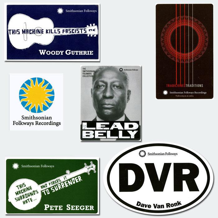 Folkways Stickers Bundle – All Seven Stickers