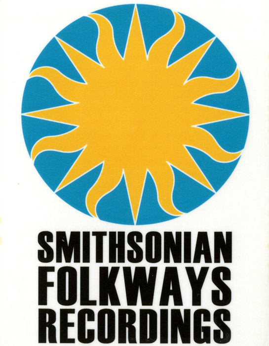 Clear Smithsonian Folkways Sticker