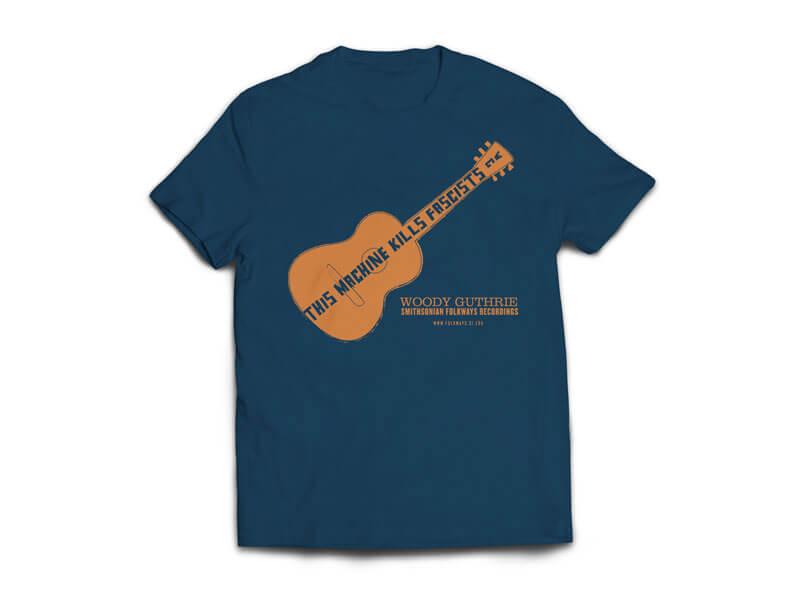 Woody Guthrie/Pete Seeger T-Shirt