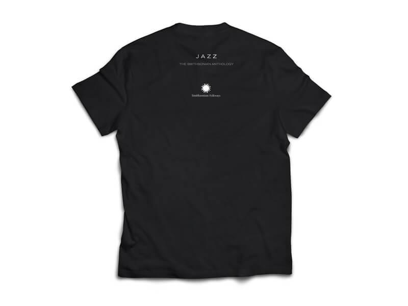 Jazz: The Smithsonian Anthology T-Shirt Back