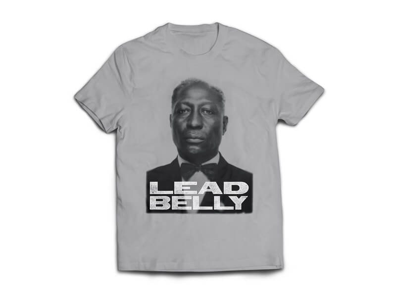 Lead Belly T-Shirt Front