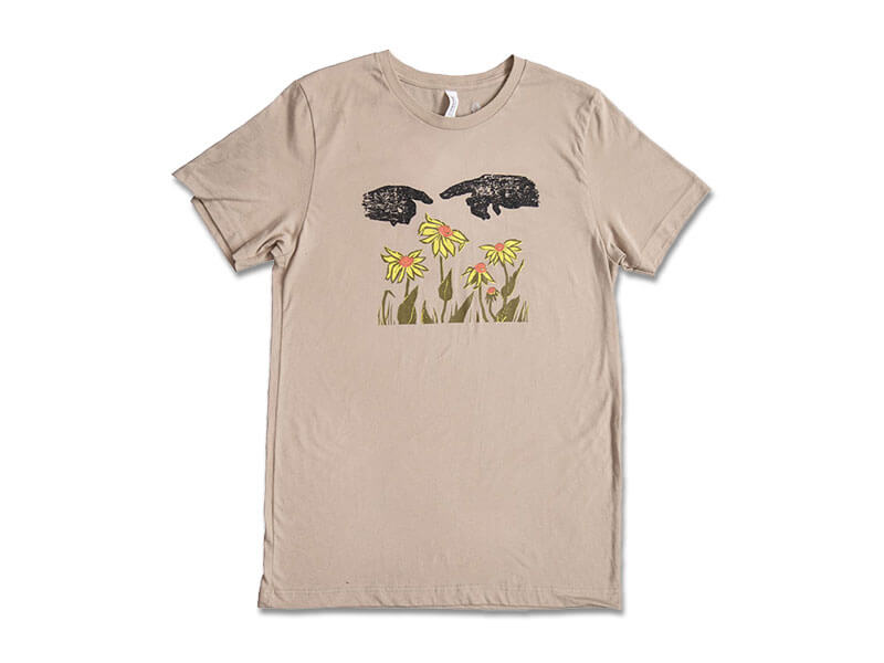 Where Have All the Flowers Gone T-Shirt front