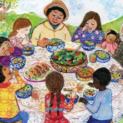 ¡Come Bien! Eat Right! - Lesson Plan | Smithsonian Folkways Magazine (En Español)