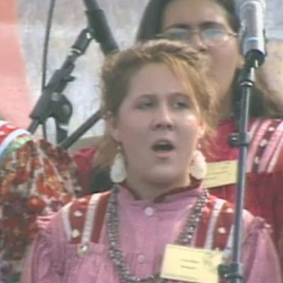"""Orphan Child"" by The National Cherokee Youth Choir at 2004 Smithsonian Folklife Festival"