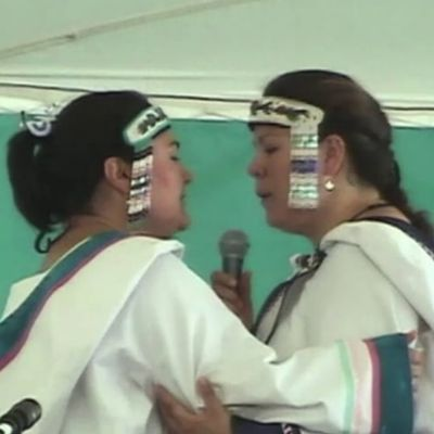 Inuit Throat-Singing Demonstration by Karin and Kathy Kettler at 2004 First Americans Festival