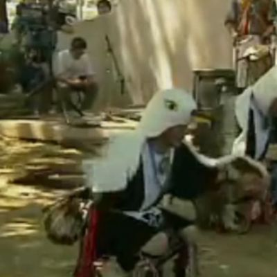 Eagle Dance Performed by Members of the Cochiti Pueblo at 2000 Smithsonian Folklife Festival