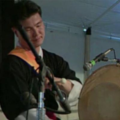 Dong-Wan Kim of the Silk Road Ensemble Performs on Korean Chang-go