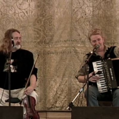 Johnny and Phil Cunningham Perform at 2003 Smithsonian Folklife Festival