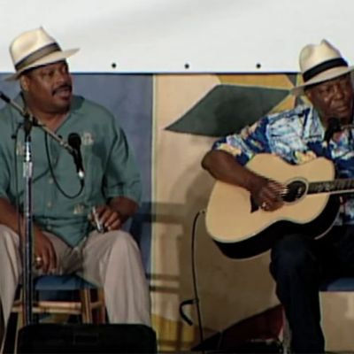 """Dog Days of August"" by John Cephas and Phil Wiggins at 2003 Smithsonian Folklife Festival"