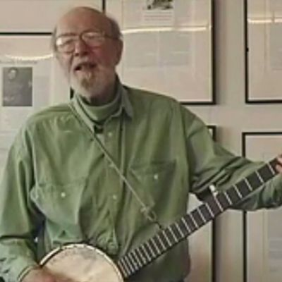 """English is Crazy (English is Kuh-ray-zee)"" by Pete Seeger for Smithsonian Staff"