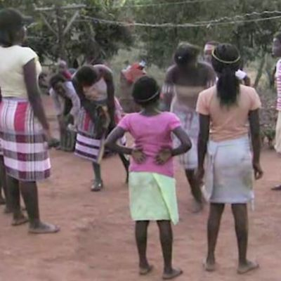 The Malende & Tshigombela performed by school children in South Africa