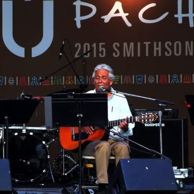 Agustín Lira & Alma at the 2015 Smithsonian Folklife Festival
